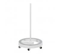 Стойка (штатив) для лампы-лупы напольная 6 колес