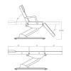 Косметологическое кресло MK11 STER weelko