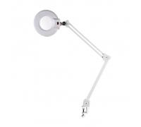 Лампа-лупа X01A LED на струбцине