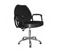 Парикмахерское кресло СОЛО на хромированном пневмоподъемнике