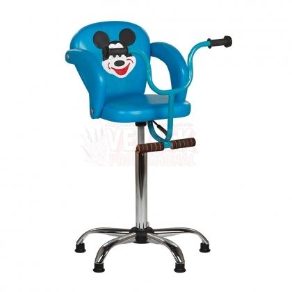 Детское парикмахерское кресло Микки