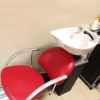 Мойка парикмахерская СИБИРЬ с креслом ГЛОРИЯ
