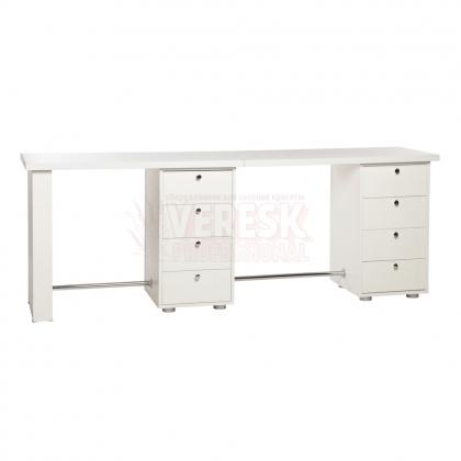 Двойной маникюрный стол Глория