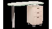 Стеклянные маникюрные столы