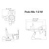 Педикюрное кресло PODO MIX 1M