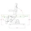 Педикюрное кресло P22