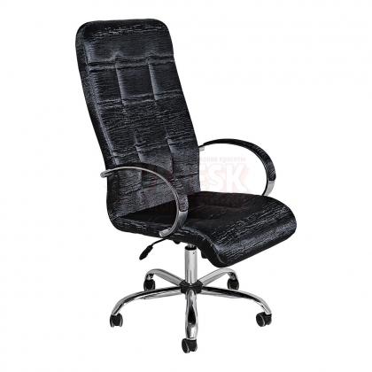Кресло администратора салона красоты, хром